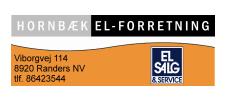 Hornbæk El-forretning
