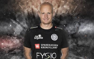 Optakt til kampen imod Nykøbing F. Håndbold