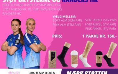 KOM MED I KAMPEN – Støt Brysterne og Randers HK!