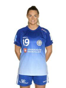 #19 Kristin Thorleifsdottir, bagspiller